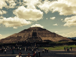 The magnificent pyramid of the sun